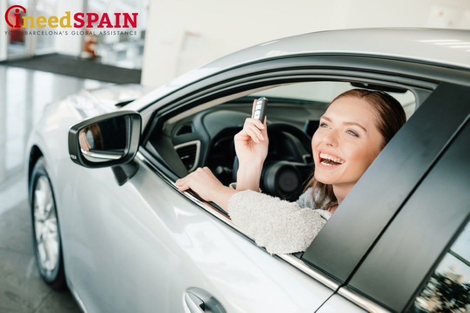 export a new car from Spain